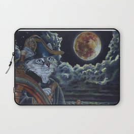 Sea Captain Cat Laptop Sleeve