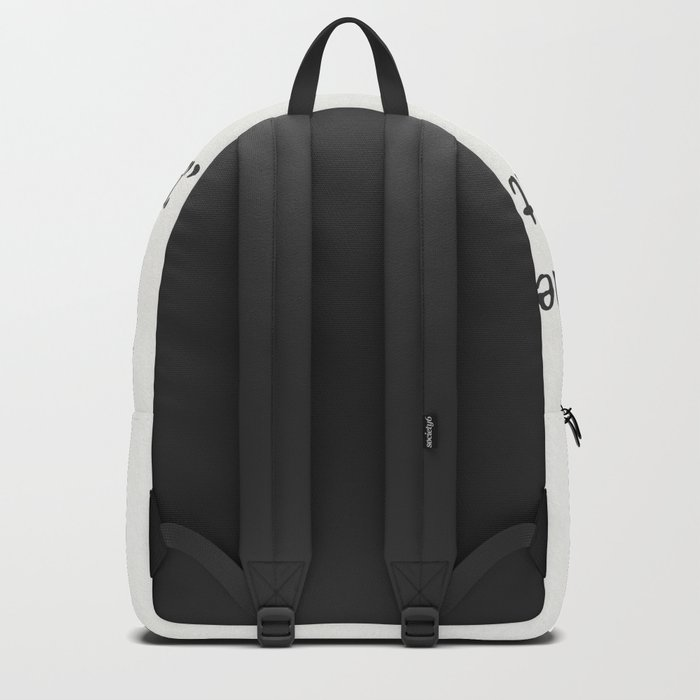 George Orwell quote Backpack