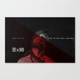 Z/MBªBW3 X KIIIII Flyer Canvas Print