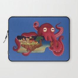 World in bottle: Atalantis (Octopus - monster) Laptop Sleeve