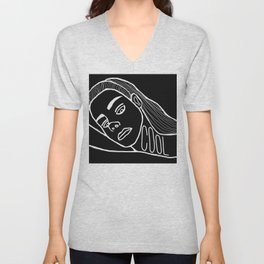 She's a Cool Girl Unisex V-Neck