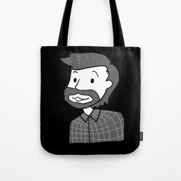 The Woodsman - Black  Tote Bag