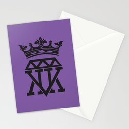 King Crown (PURPLE) Stationery Cards