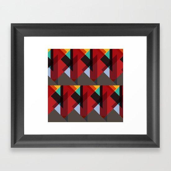 Crazy Abstract Stuff Framed Art Print
