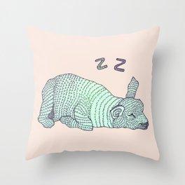 Sleepy Lil Lamb Throw Pillow