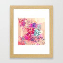 LOTUS - BUD Framed Art Print
