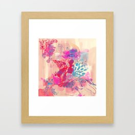 LOTUS - BUD Framed Art Print