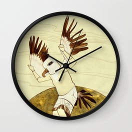 Eagle Dance Wall Clock