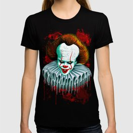 The Dancing Clown - Pennywise IT - Vector - Stephen King Character T-shirt
