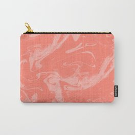Adrift - Abstract Suminagashi Marble Series - 08 Carry-All Pouch