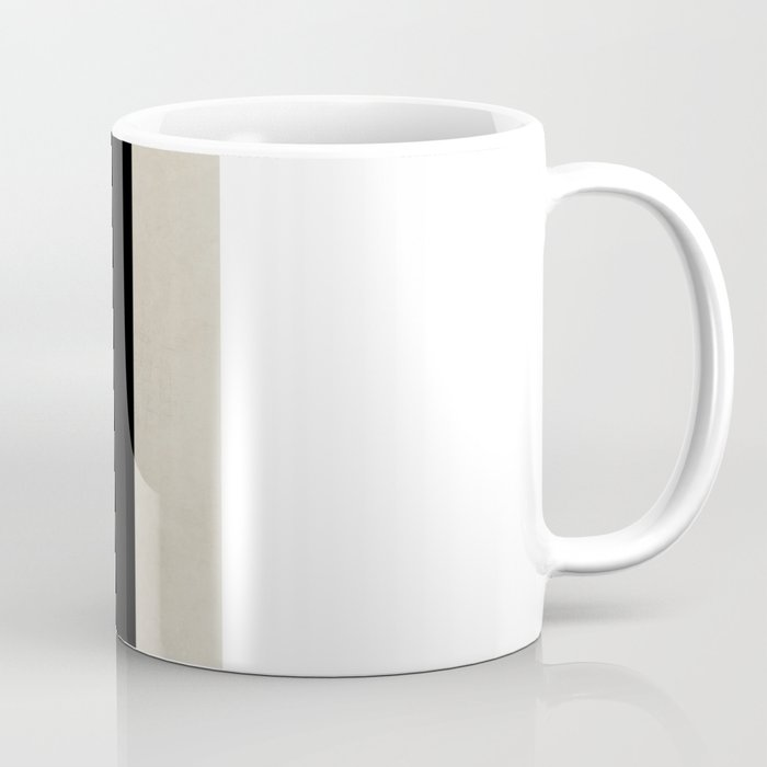 vintage black stripes Coffee Mug