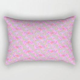 Enchanted Rose Garden Rectangular Pillow
