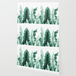 Underwater Leaves Vibes #2 #decor #art #society6 Wallpaper