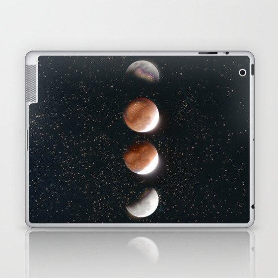 Phases of the Moon II Laptop & iPad Skin