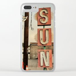 Valley of the Sun Clear iPhone Case