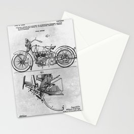 1928 Cycle support Stationery Cards