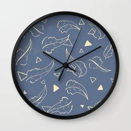 Triangleaves Wall Clock