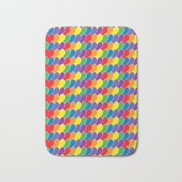 Pride Heart Scale Pattern Bath Mat
