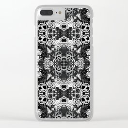 Pagan Seasons in Black Clear iPhone Case