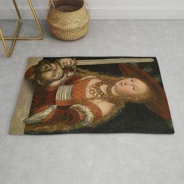 "Lucas Cranach the Elder ""Judith with the Head of Holofernes"" 2. Rug"