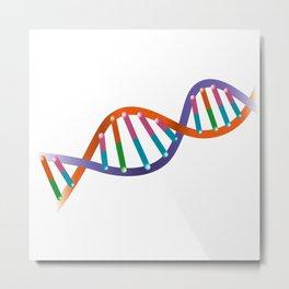 DNA_A Metal Print