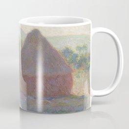 Haystacks, Midday by Claude Monet Coffee Mug