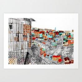 Valparaíso Art Print