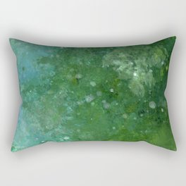 Emeralds Rectangular Pillow
