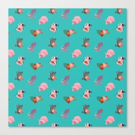 Animals Revenge Canvas Print