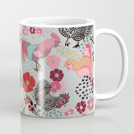 Rooster Toss Coffee Mug