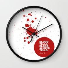 Dexter no.6 Wall Clock
