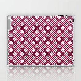 Ancient Latvian oak sign pattern Laptop & iPad Skin