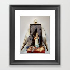 Stage Flight  Framed Art Print