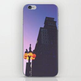 Magenta Prints #1 iPhone Skin