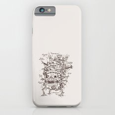 Howl's Moving Castle Plan iPhone 6s Slim Case