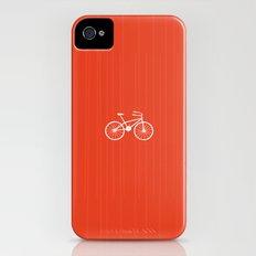 Red Bike by Friztin iPhone (4, 4s) Slim Case