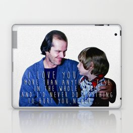 I love you more than anything else in the whole world Laptop & iPad Skin