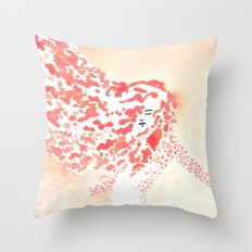 Spin Fire Throw Pillow