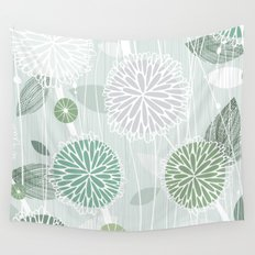 Abstract Floral by Friztin Wall Tapestry