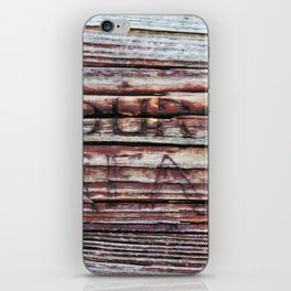 Our Dream In The Grain iPhone Skin