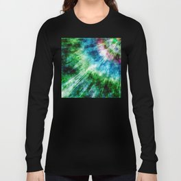 Abstract Grunge Tie Dye Long Sleeve T-shirt