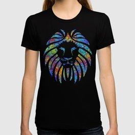 Colorful Watercolor Lion T-shirt