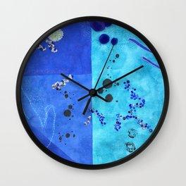 i wrote drowning Wall Clock