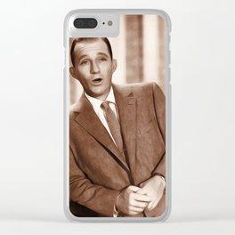 Bing Crosby, Actor/Crooner Clear iPhone Case