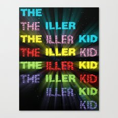 The Iller Kid Canvas Print