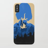 bioshock infinite iPhone & iPod Cases featuring Bioshock Infinite Elizabeth by Bill Pyle