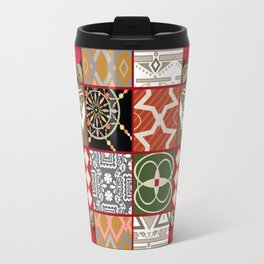 National ethnic patchwork . Travel Mug