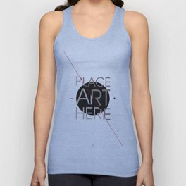 The Art Placeholder Unisex Tank Top