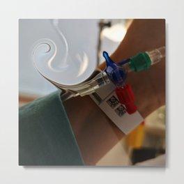 IV therapy Metal Print