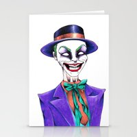joker Stationery Cards featuring JOKER by ReadThisVA